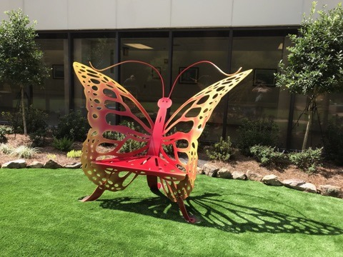 Lake Charles Memorial Hospital Butterfly Chair