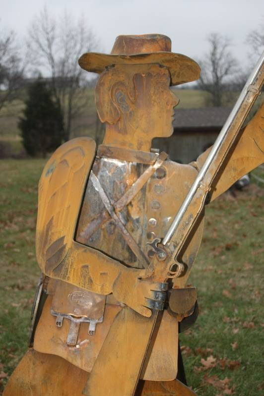 "Confederate Rifleman ""Bartholomew James III"""