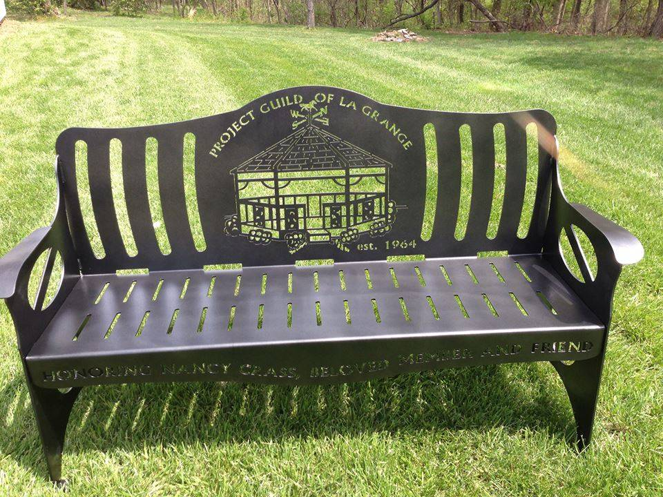 Project Guild Memorial Bench