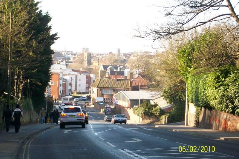 Ipswich From Bishops Hill