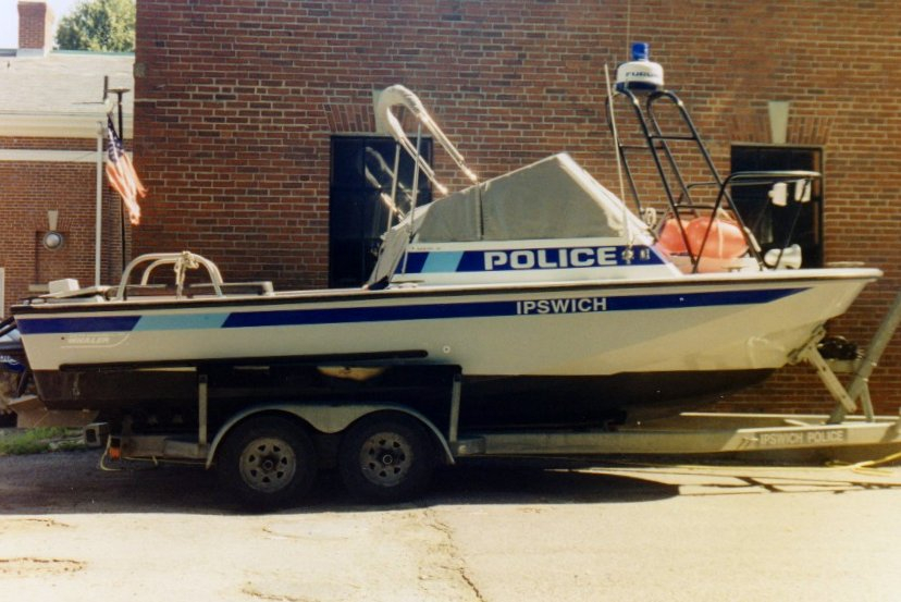 Ipswich Police Boat