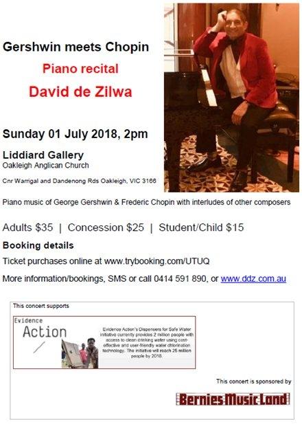 2018 - Gershwin meets Chopin