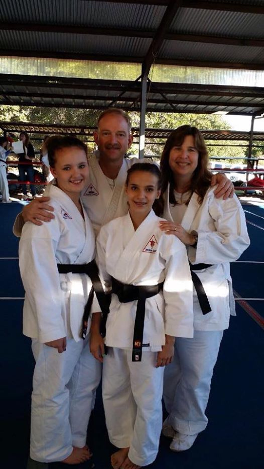 Next Black Belts in Christian Soldiers Karate