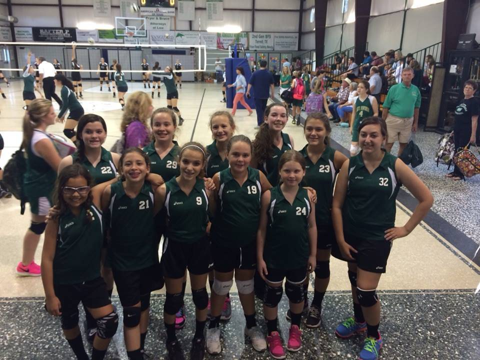 JH Volleyball Tourney Champs