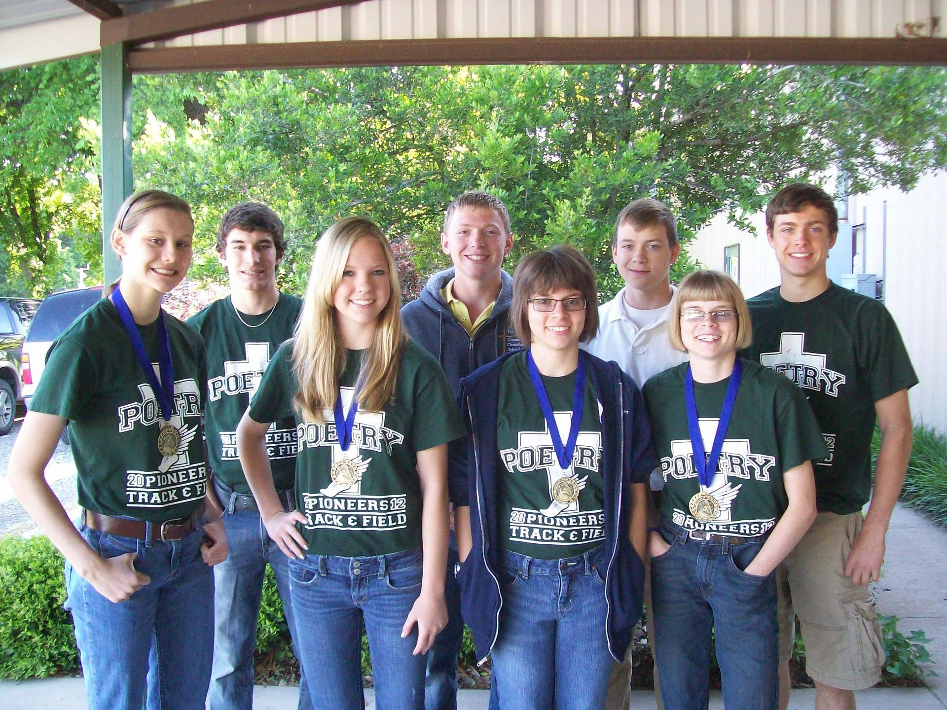 High Schoolers take home TCAL medals