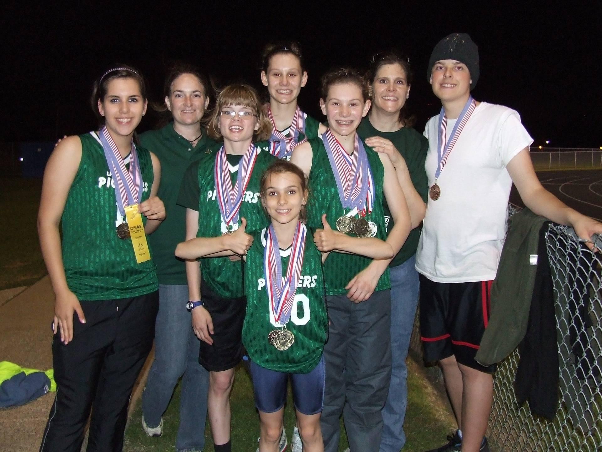 Junior High CSAF District Winners