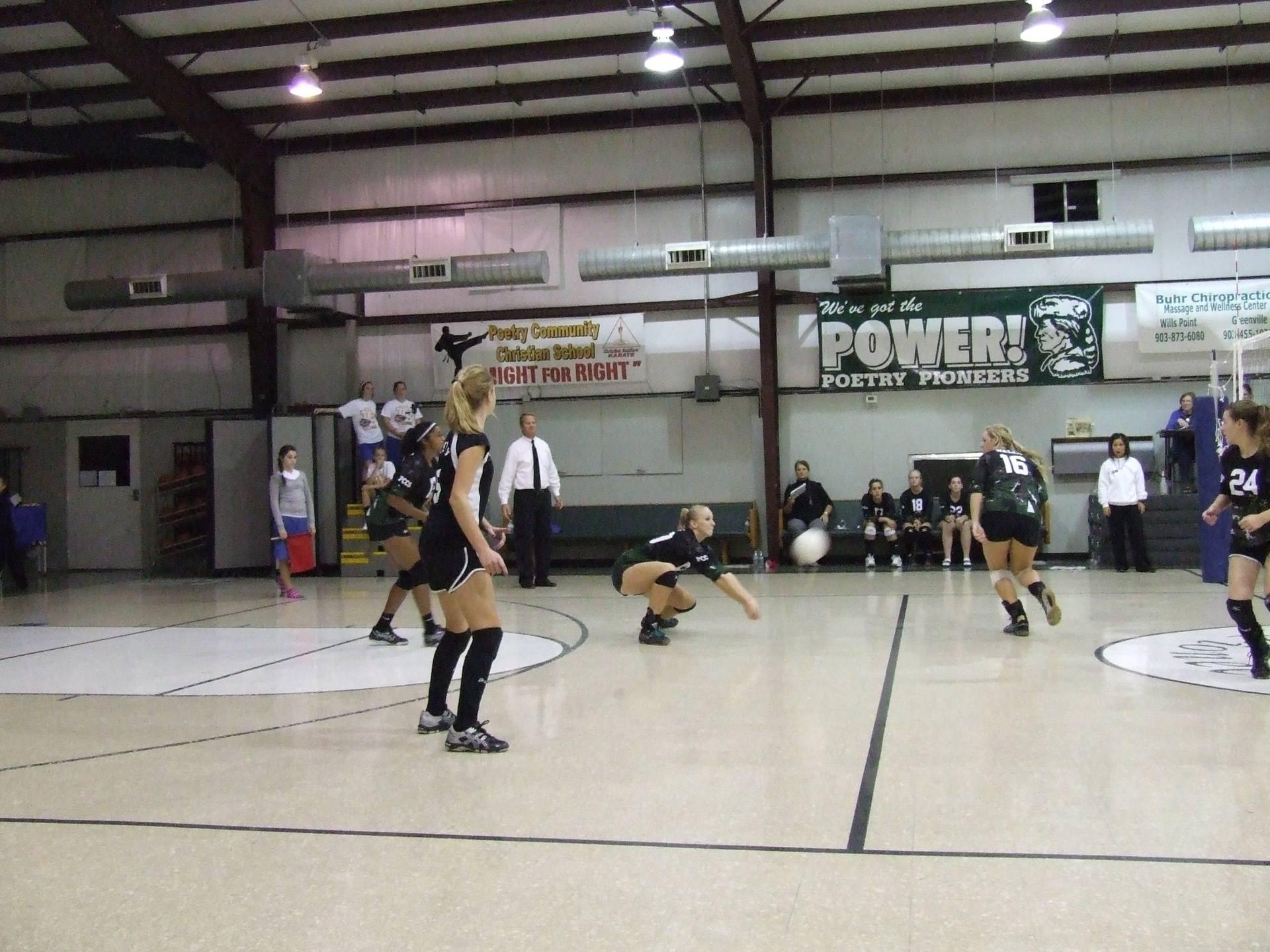 Girls' Varsity Volleyball Team