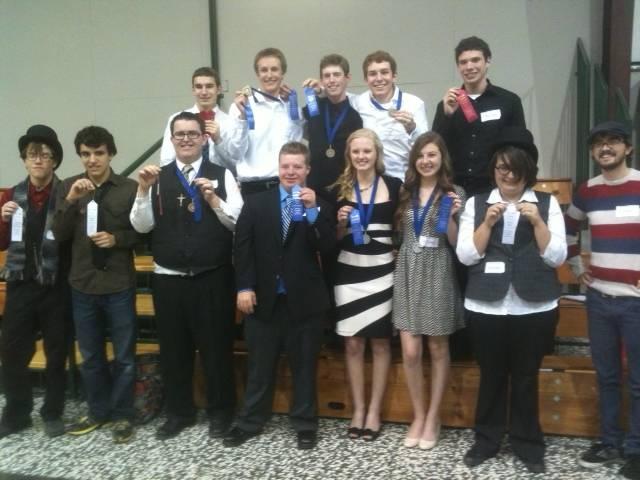 ACSI District Meet Winners