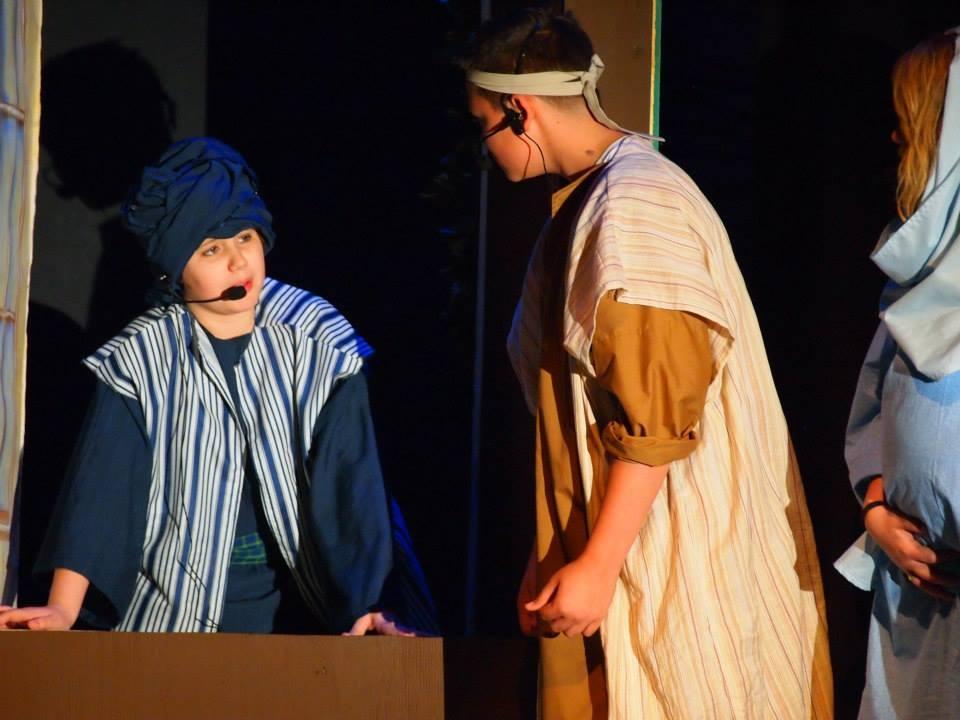 Innkeeper and Joseph