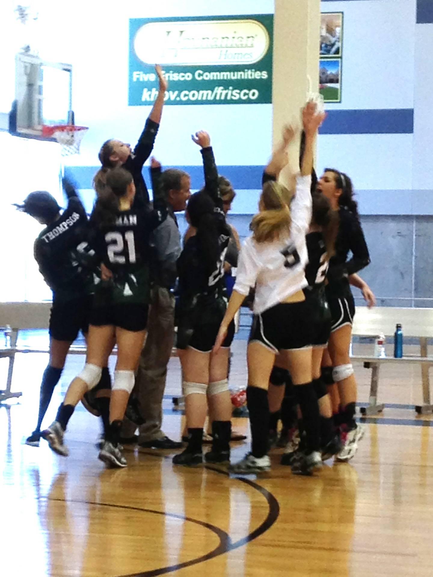 Girls Volleyball Defends Championship!