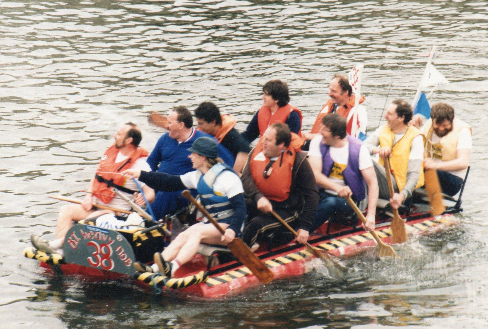 Raft Race 1. - Donated by Keith Beesley
