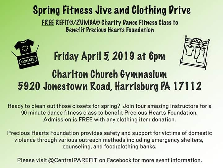 Spring Fitness Drive & Clothing Drive