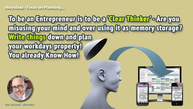 Focus on Planning