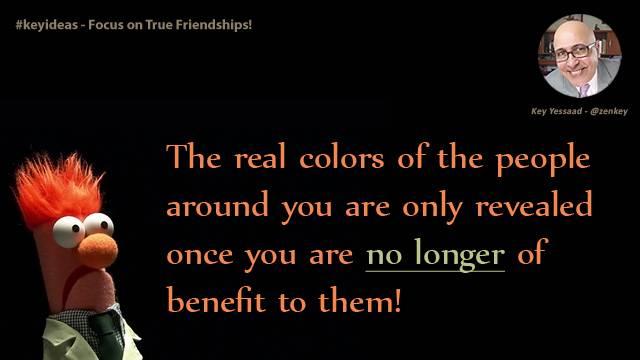 Focus on True Friendships!
