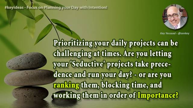 Focus on Planning your Day with Intention!