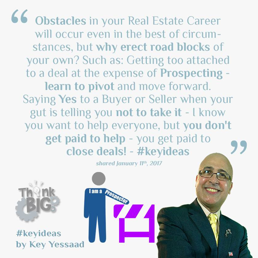 I am a Real Estate Prospector with a Clear Vision