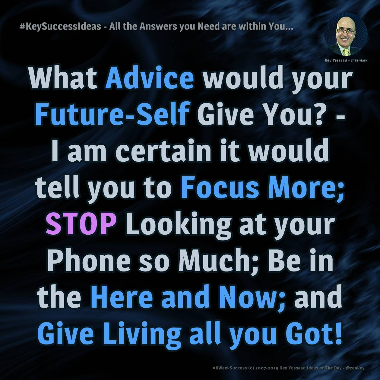 #KeySuccessIdeas - All the Answers you Need are within You...