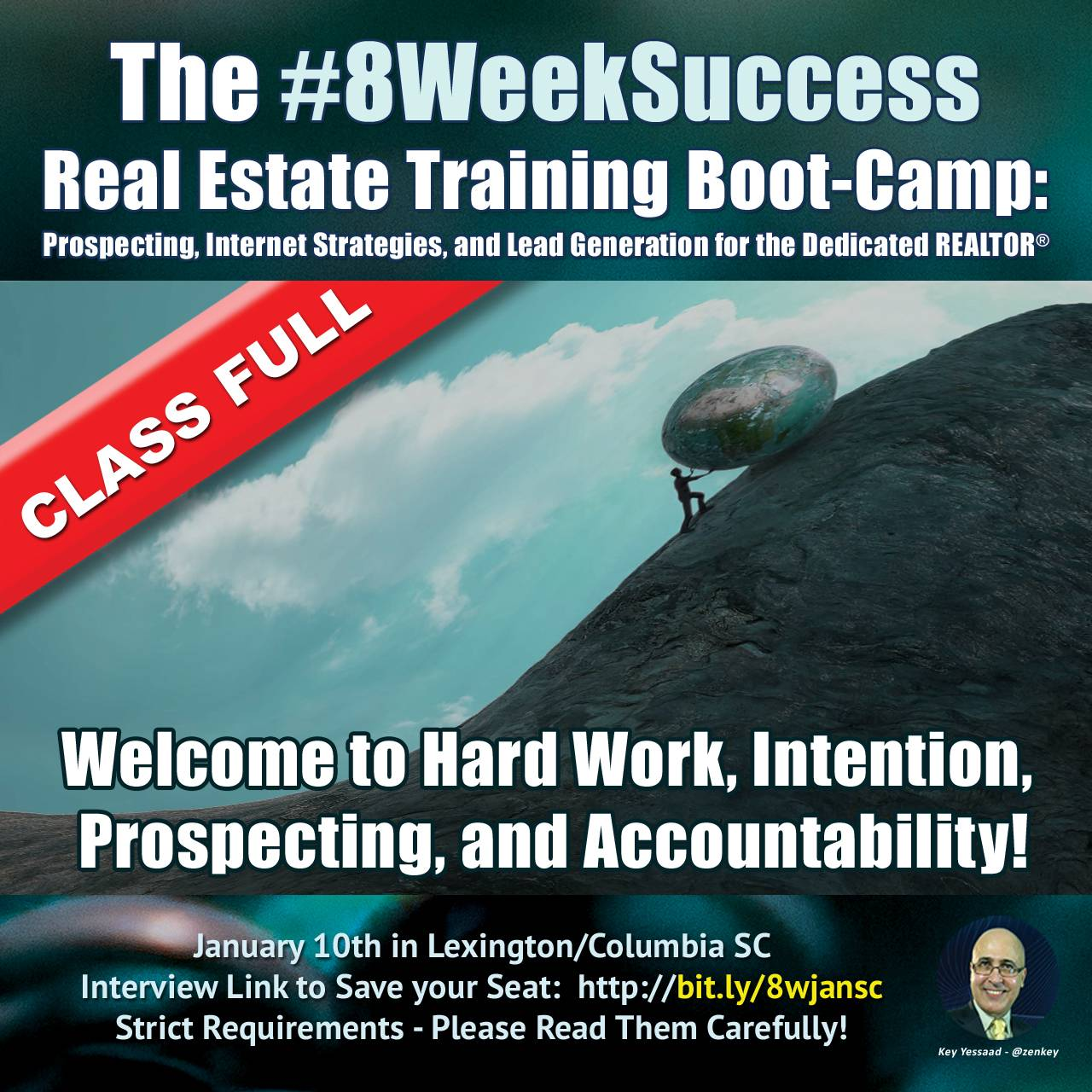 New Group starting the #8WeekSuccess Boot-Camp this Friday... #20in20