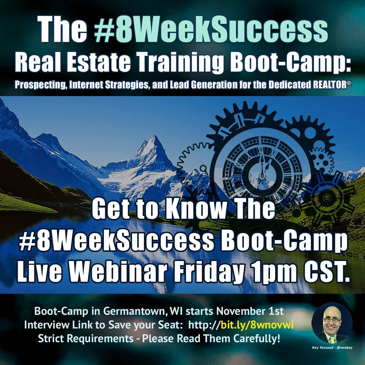 #8WeekSuccess - Get to Know the Boot-Camp - Live Webinar Friday October 11th...