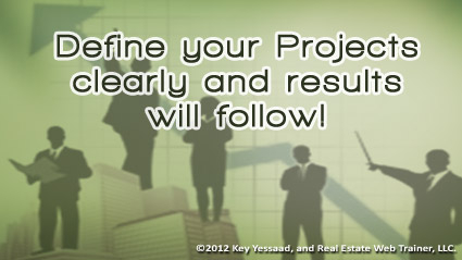Defining your Projects Clearly is your Business