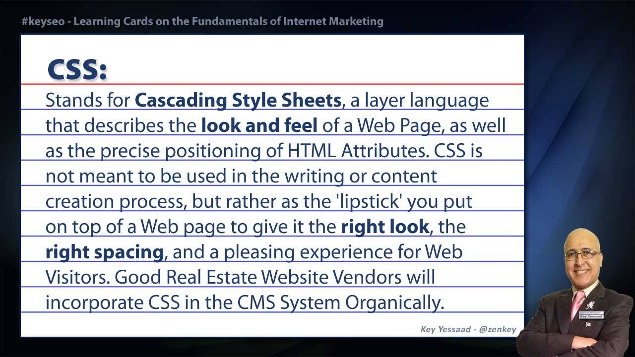 CSS - Real Estate SEO Short Definition