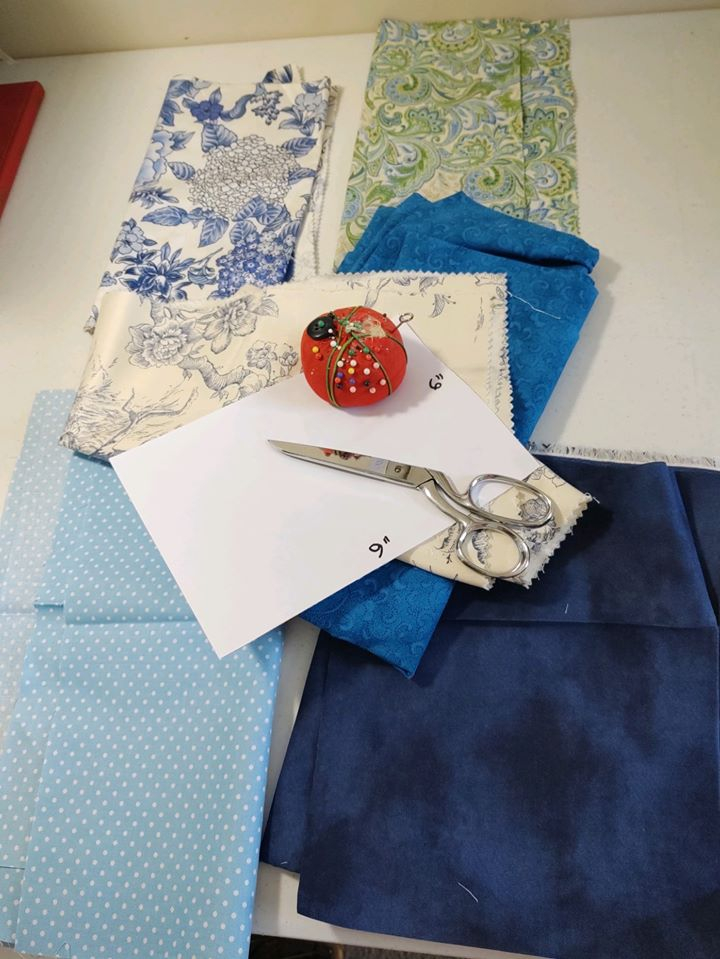 Sewing Supplies-ready to sew!
