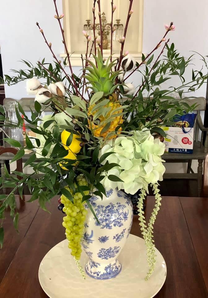 The Beautiful Flower Arrangement