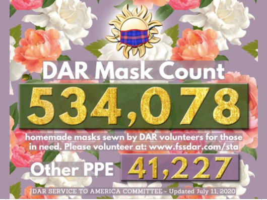July 11th 2020 Mask Count - 534,078