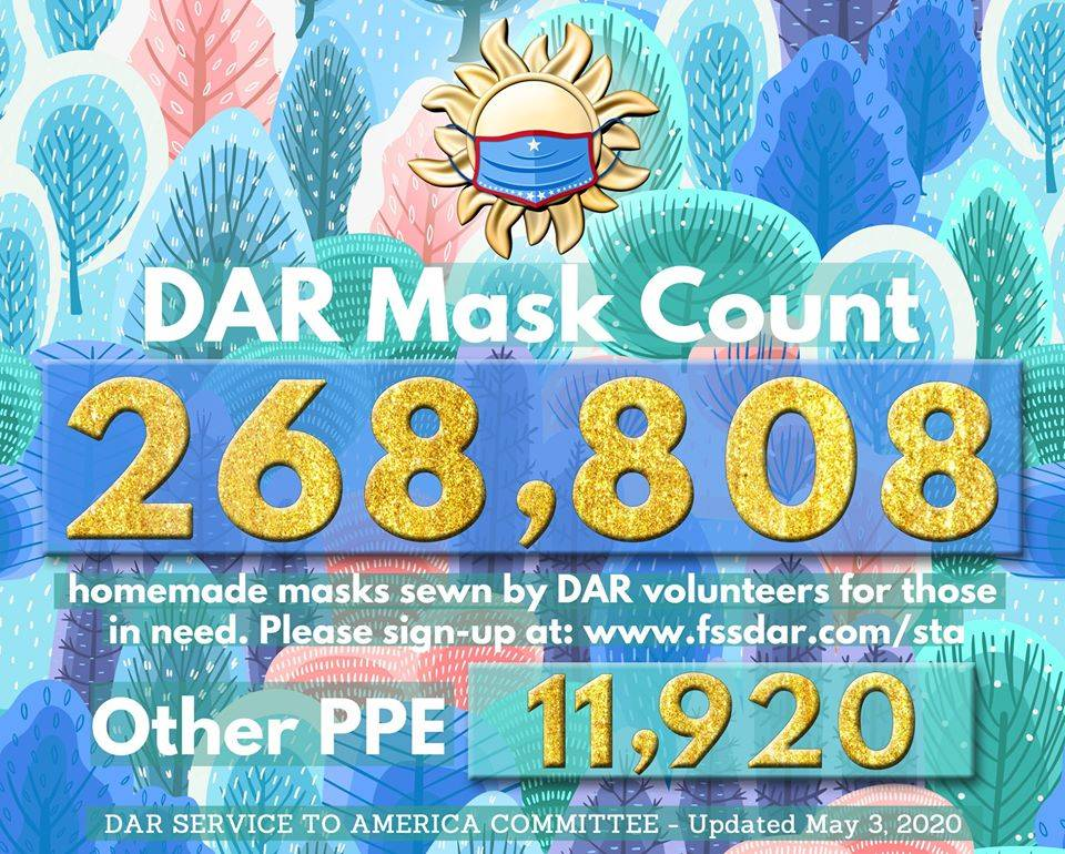 May 3rd - 268,808 Masks Made