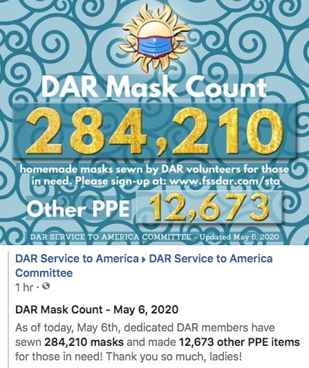 May 6th - 284,210 Masks Made