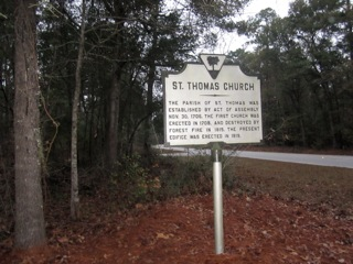 Church Historic Marker