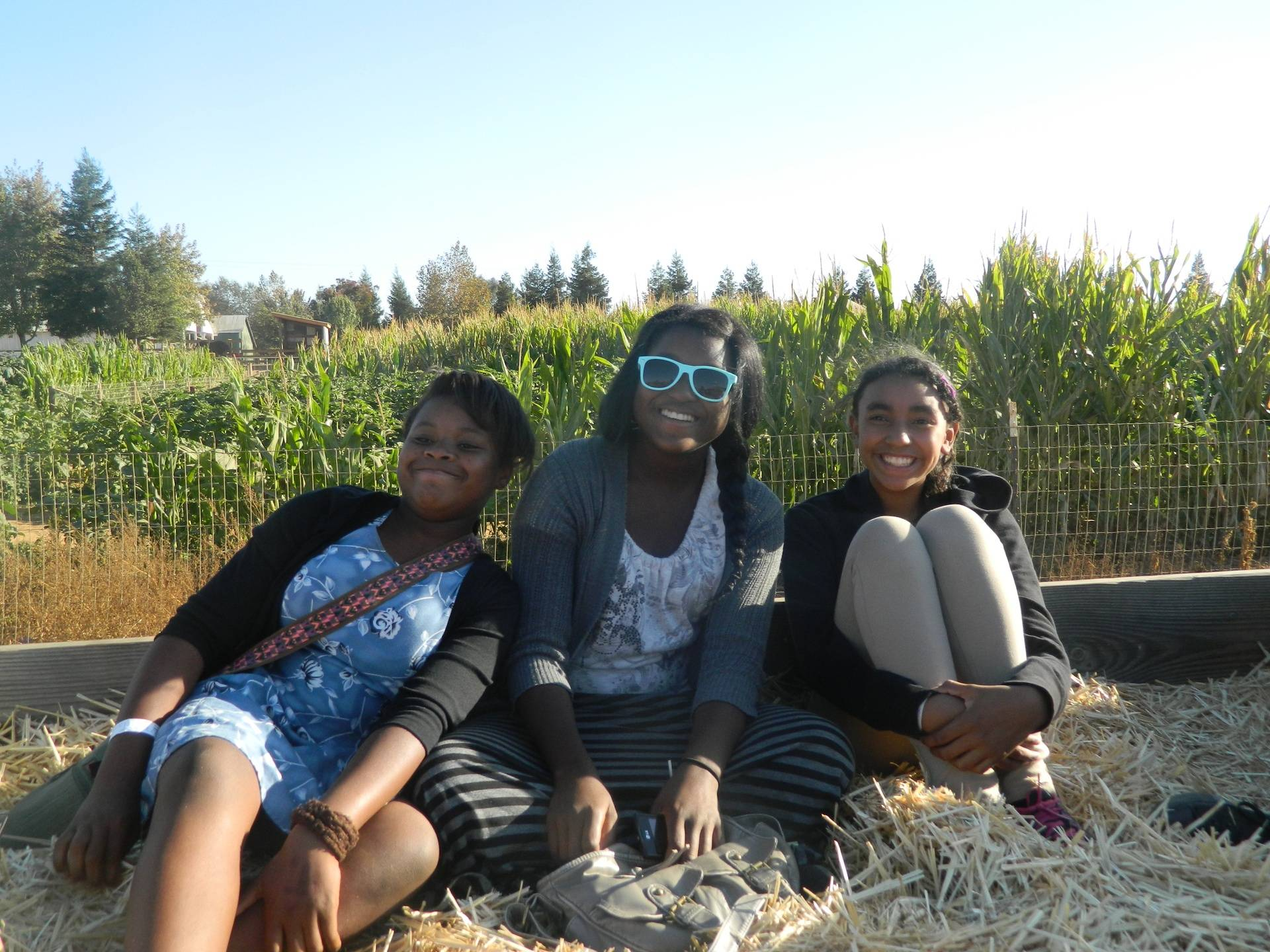On the Hay Ride!!