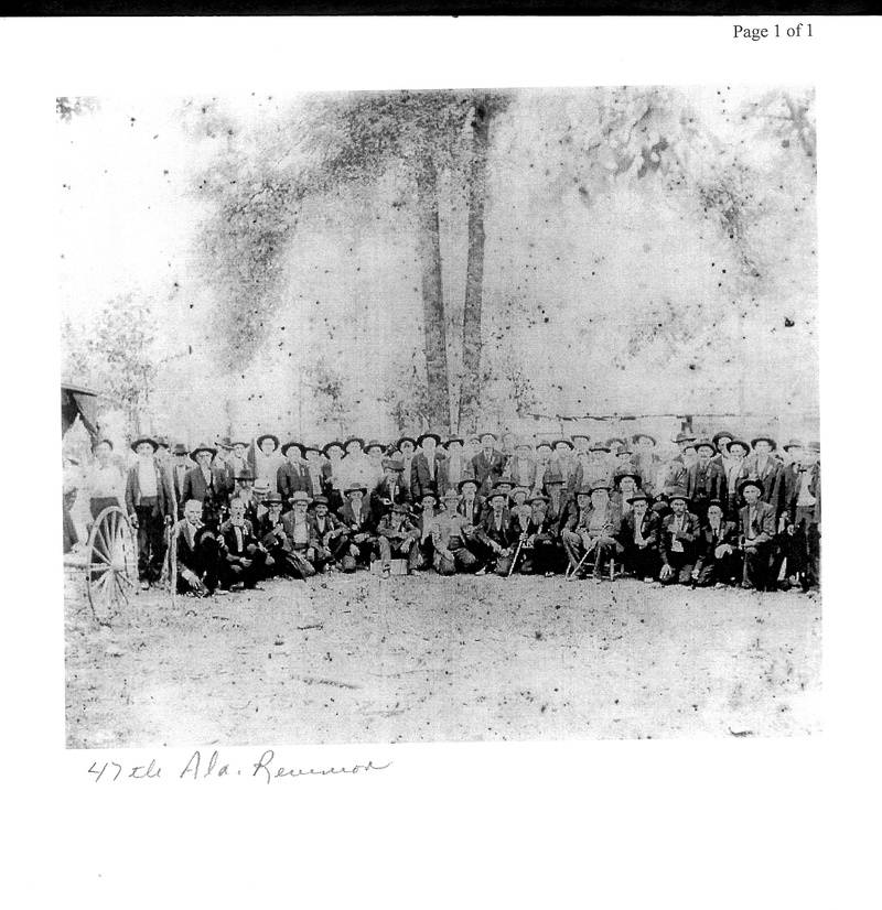 47th Alabama Regiment