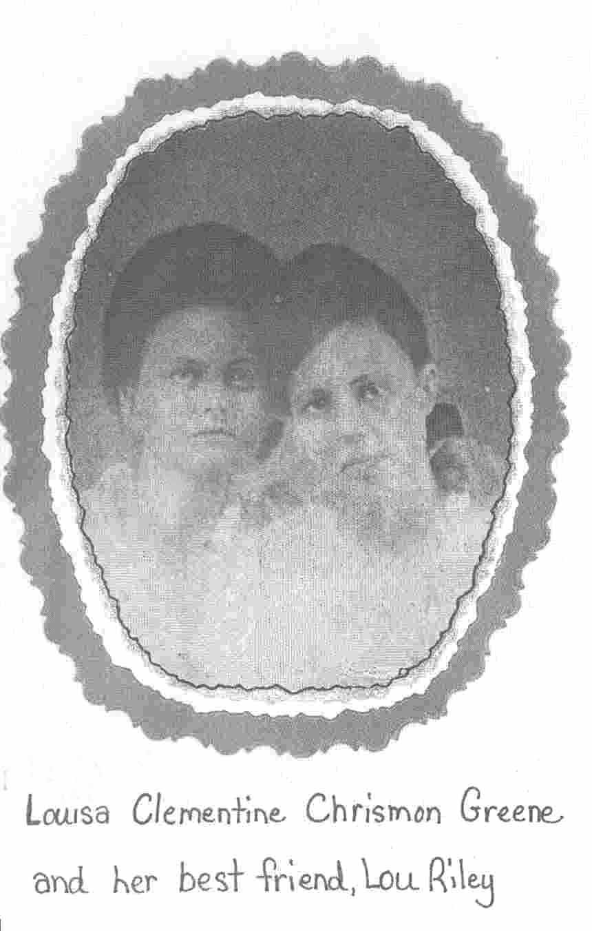 Daughter of James R. & Mary Chrisman