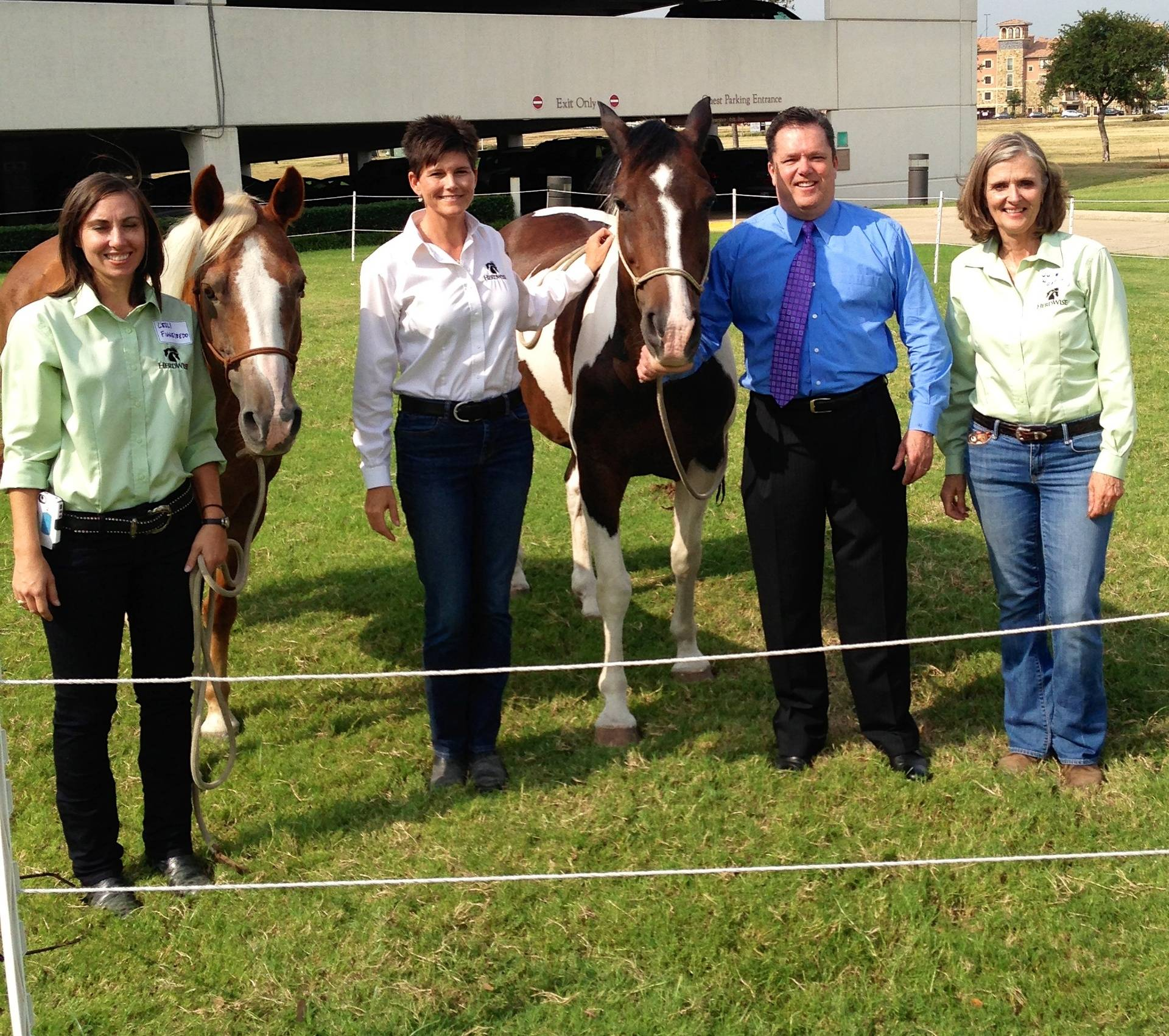 Dr. Brady and Kathy Taylor's Team from HerdWise