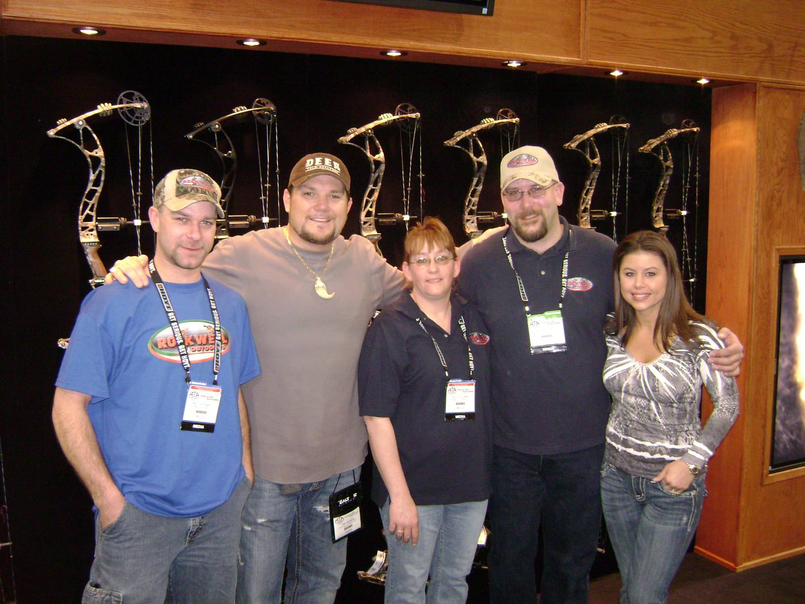 The RO Crew with Jon and Gina Brunson from Limbsavers Addicted to the Outdoors