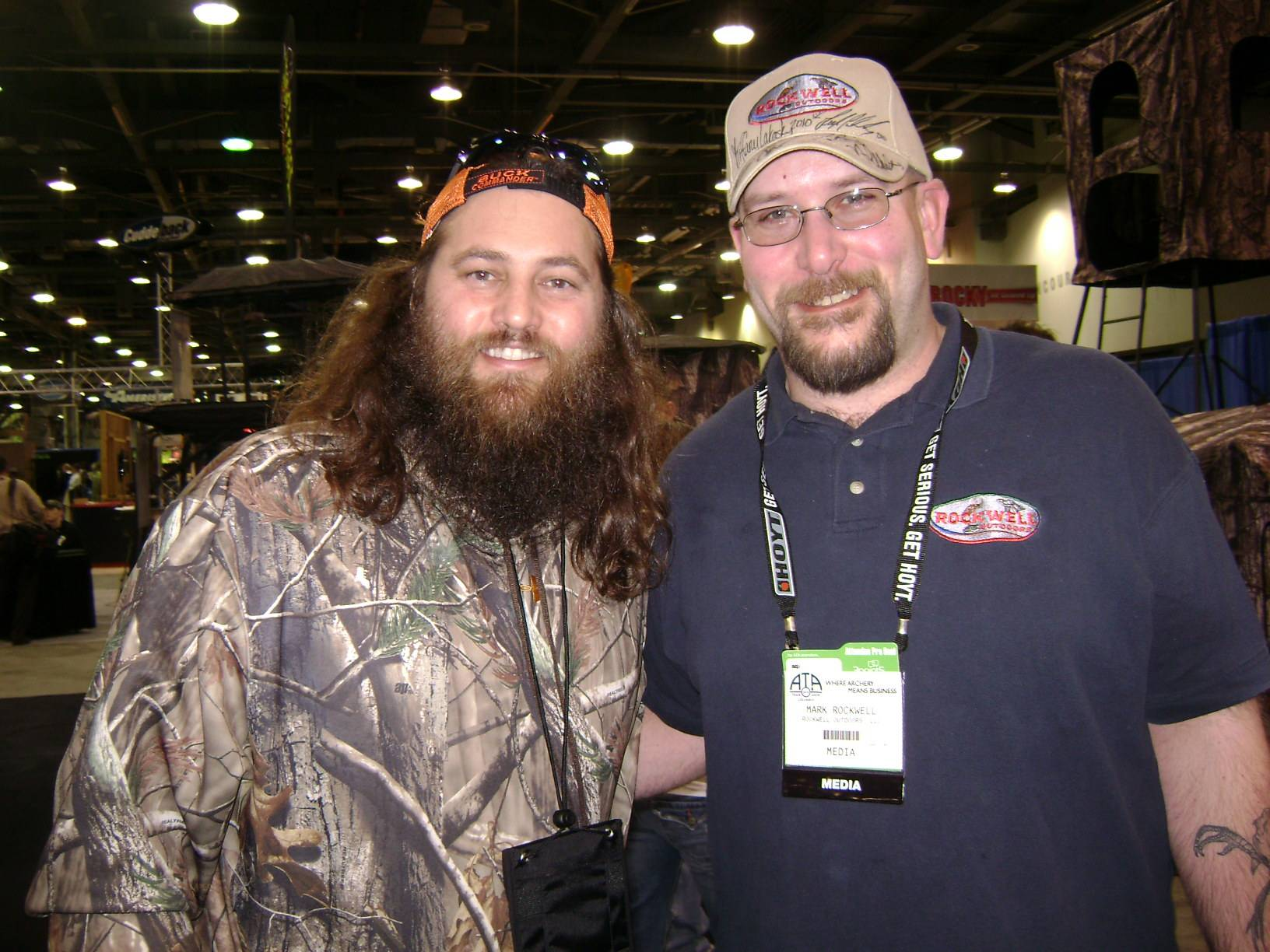 Willie from Duck Commander/Buck Commander with Mark