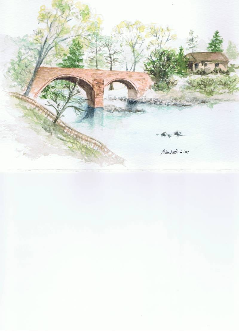 Watercolour By Elizabeth Langford