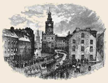 Burns Funeral - 25th July 1796