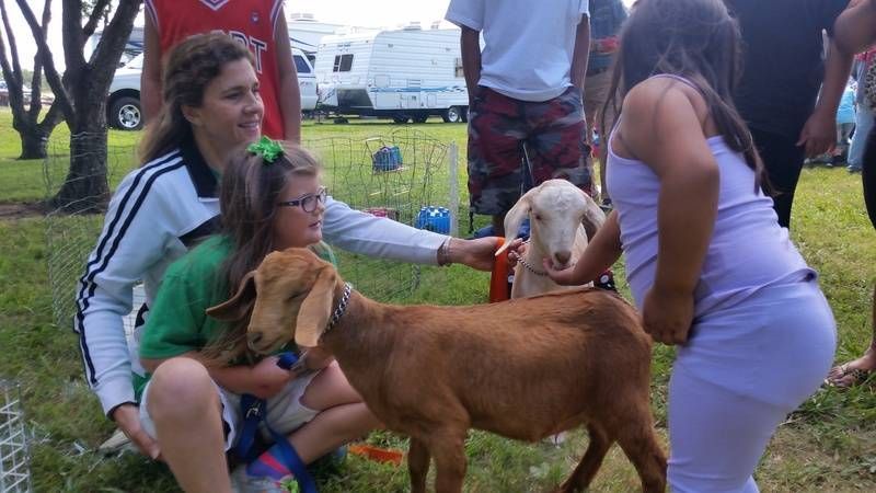 Green Acres 4-H Animal Booth