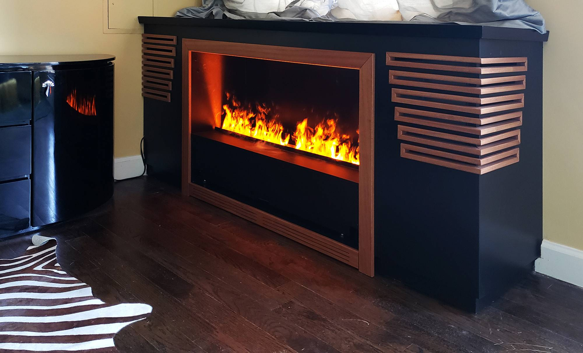 Fireplace & Radiator Enclosure
