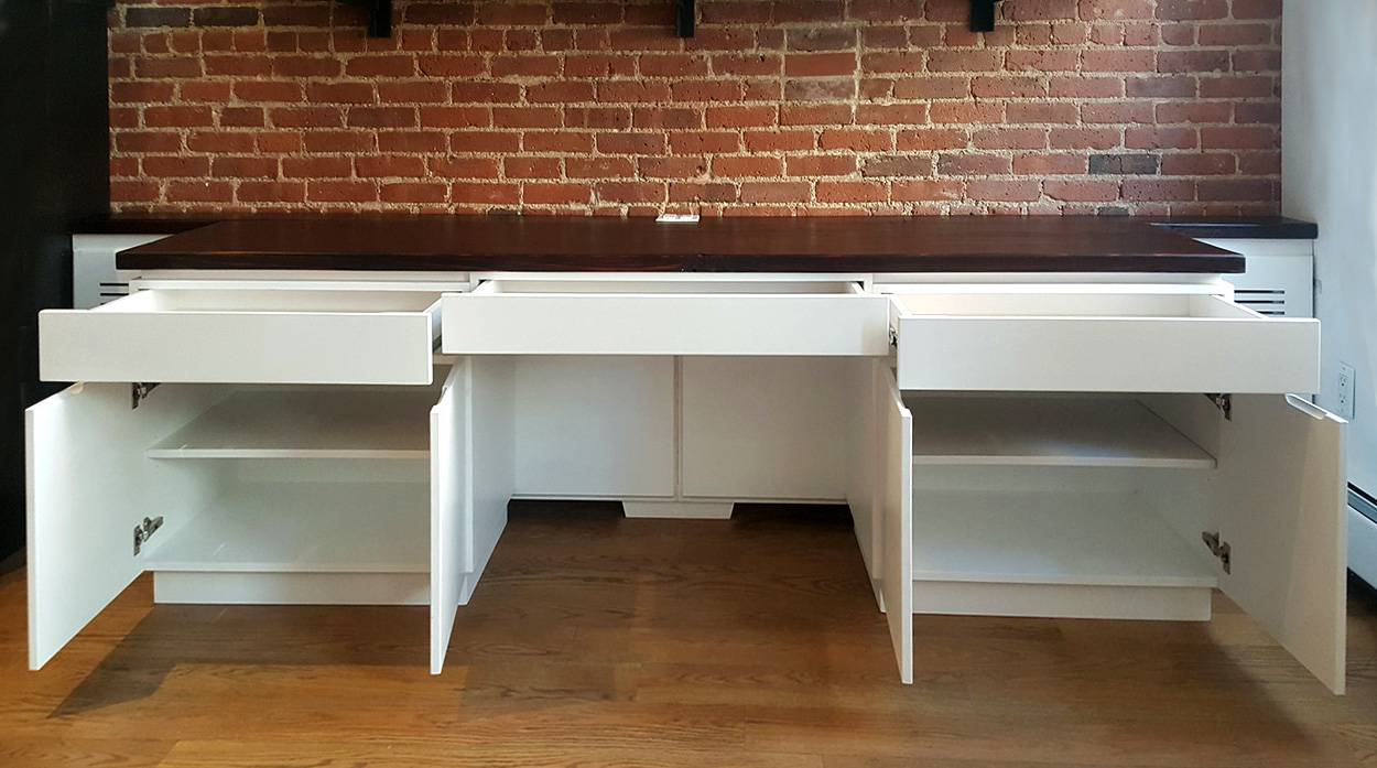 Radiator Enclosure Desk