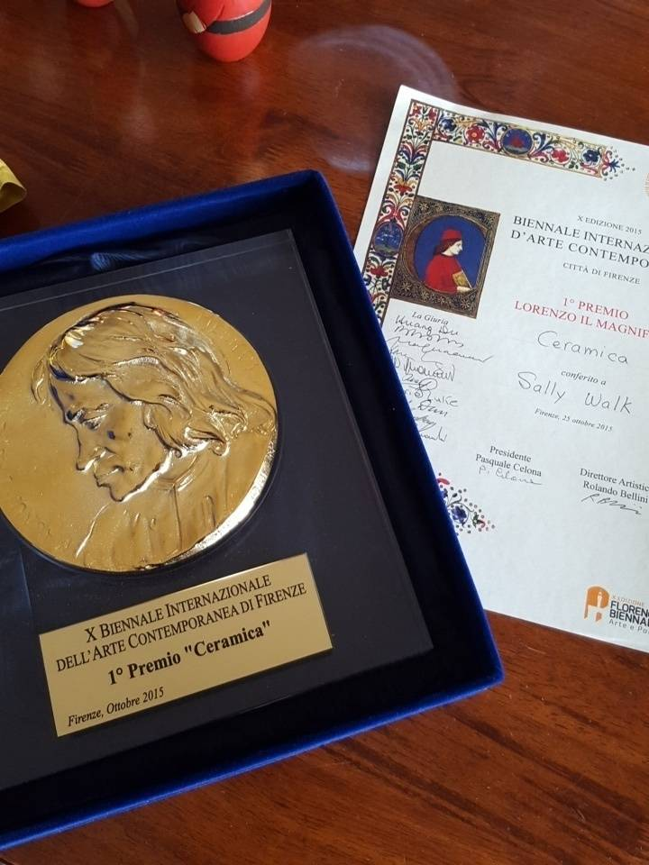 First Place Medal - Florence Biennale