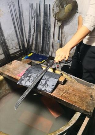 Sharpening Procedure of the Blades