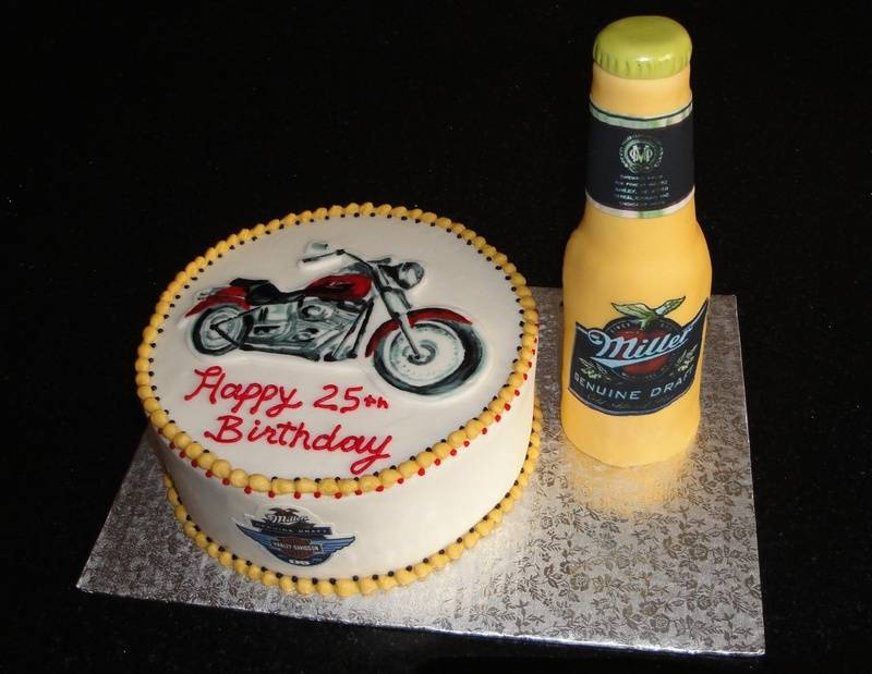 Harley Davidson/Miller GD Theme Birthday