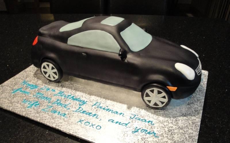 3D Infiniti G35 24th Birthday Cake