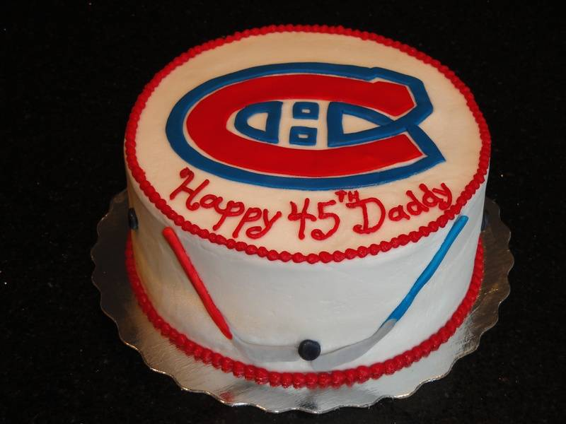 Montreal Canadiens Theme 45th Birthday