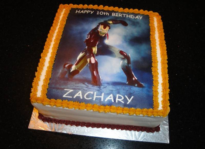 Zachary's Super Hero Birthday