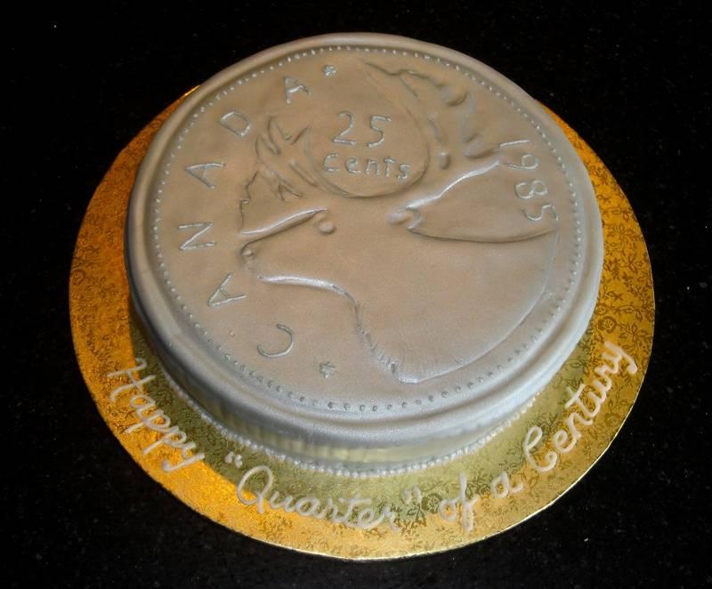 Quarter of a Century Cake