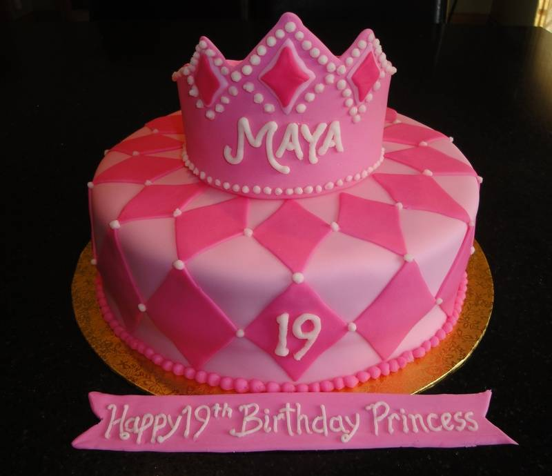Princess Cake for Maya's 19th Birthday